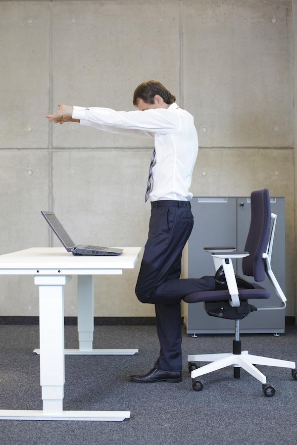 Desk Stretching
