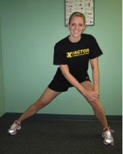 Standing Adductor Stretch