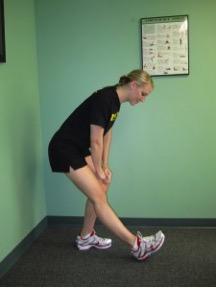 Standing One Leg Hamstring Stretch